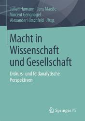 Macht in Wissenschaft und Gesellschaft PDF