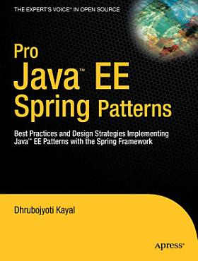 Pro Java EE Spring Patterns PDF