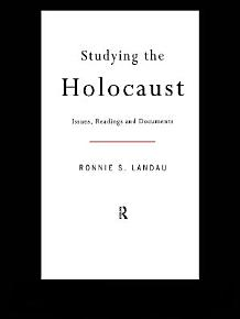 Studying the Holocaust PDF
