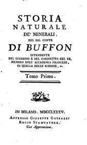Storia Naturale De' Minerali: Volume 1