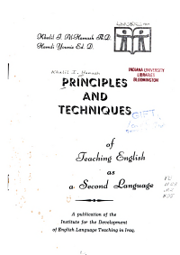 Principles and Techniques of Teaching English as a Second Language PDF