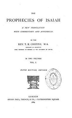 The Prophecies of Isaiah PDF