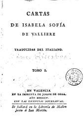 Cartas de Isabela Sofía de Valliere