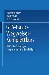 GFA-Basic-Wegweiser-Komplettkurs