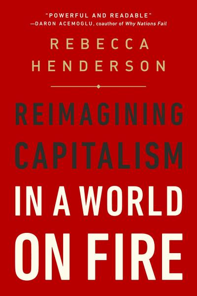 Download Reimagining Capitalism in a World on Fire Book