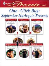 One-Click Buy: September Harlequin Presents: Bought by the Billionaire Prince\The Greek Prince's Chosen Wife\Blackmailed Into the Italian's Bed\Claiming His Pregnant Wife\The Billionaire's Marriage Bargain\The Brazilian Boss's Innocent Mistress