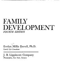 Family Development