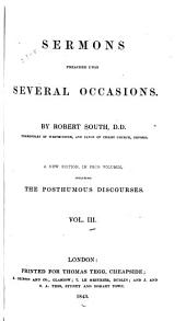 Sermons Preached Upon Several Occasions: Volume 3