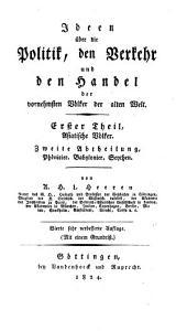 Historische werke von Arnold Hermann Ludwig Heeren: Volume 11