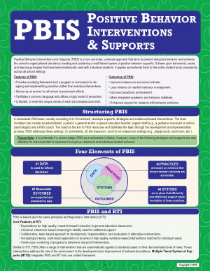PBIS  Positive Behavior Interventions and Supports