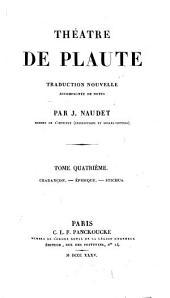 Théâtre de Plaute: Volume4