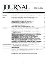 Journal of the National Cancer Institute PDF