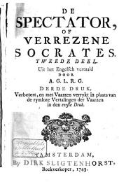 De spectator of Verrezene Socrates: Volume 2