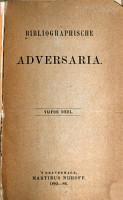 Bibliographische adversaria PDF