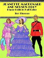 Jeanette MacDonald and Nelson Eddy Paper Dolls in Full Color PDF