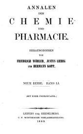 Annalen der Chemie und Pharmacie: Bände 51-52;Bände 127-128