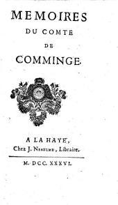 Memoires du comte de Comminge