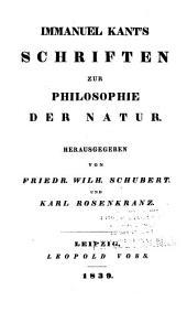 Immanuel Kant's sämmtliche Werke: Bände 5-6
