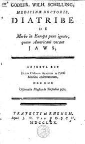 Diatribe de morbo in Europa pene ignoto, quem americani vocant Jaws: adjecta est hecas casuum rariorum in praxi medica observatorum, nec non observatio physica de torpedine pisce