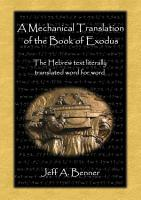 A Mechanical Translation of the Book of Exodus PDF