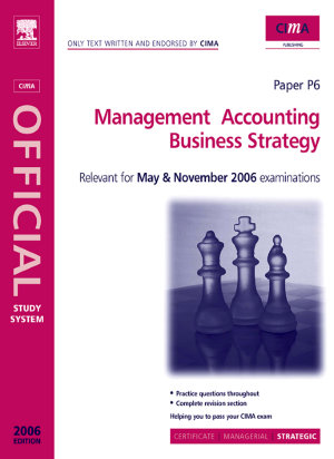 Management Accounting Business Strategy PDF