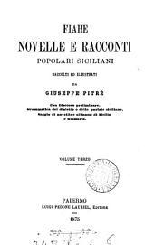 Biblioteca delle tradizioni popolari siciliane, per cura di G. Pitrè: Volume 6