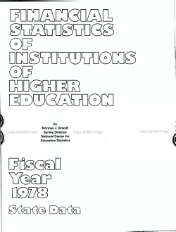 Financial Statistics of Institutions of Higher Education PDF