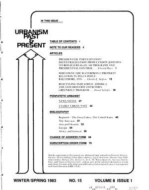 Urbanism Past   Present PDF