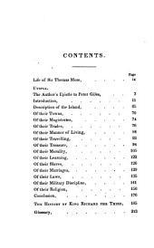 Utopia: And History of King Richard III