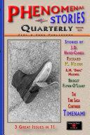 Phenomenal Stories Quarterly, Vol. 2, No. 2, Summer 2019