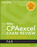 Wiley CPAexcel Exam Review July 2018 Study Guide  Financial Accounting and Reporting PDF