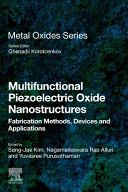 Multifunctional Piezoelectric Oxide Nanostructures