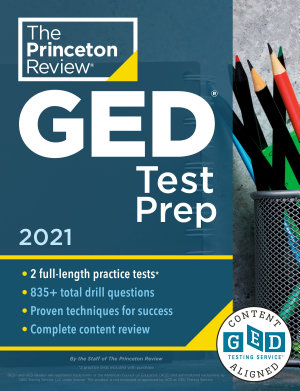 Princeton Review GED Test Prep  2021