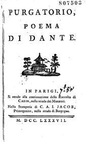 Purgatorio, Poema di Dante