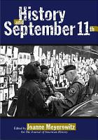 History and September 11th PDF
