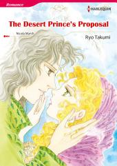 THE DESERT PRINCE'S PROPOSAL: Harlequin Comics