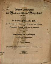Zur realschulfrage: insbesondere über die einführung der realschüler in den geist des klassischen alterthums, Band 1