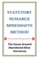 Statutory Nuisance Mineshafts Method