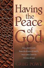 Having the Peace of God