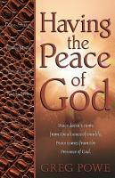 Having the Peace of God PDF