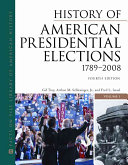 History of American Presidential Elections  1789 2008  1872 1940 PDF