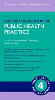 Oxford Handbook of Public Health Practice 4e PDF