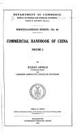 Commercial Handbook of China     PDF