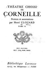 Théatre choisi de Corneille: Cinna