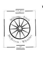 A Family History Of Williams Eaton Mcbroom Whiteley And Related Lines