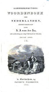 Aardrijkskundig woordenboek der Nederlanden,