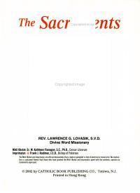 The Sacraments PDF
