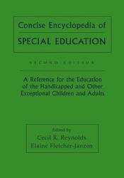 Concise Encyclopedia of Special Education PDF