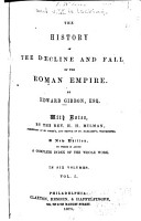 History of the Decline and Fall of the Roman Empire PDF