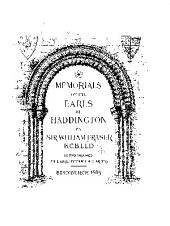 Memorials of the Earls of Haddington: Volume 2